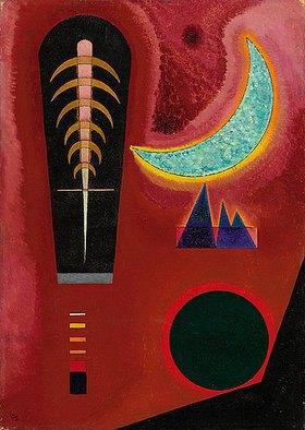 Wassily Kandinsky: Loses im Rot