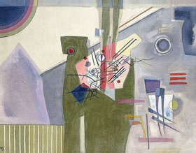 Wassily Kandinsky: Rosa im Grau