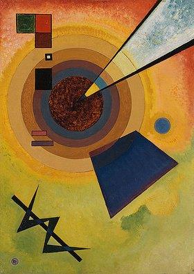 Wassily Kandinsky: Grün und Rot
