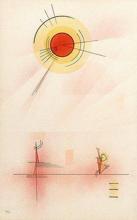 Wassily Kandinsky: Strahlen