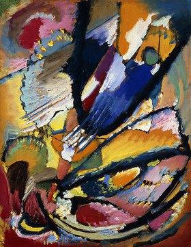 Wassily Kandinsky: Engel des Jüngsten Gerichts