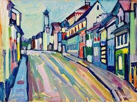 Wassily Kandinsky: Murnau - Untermarkt