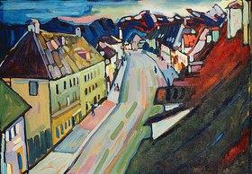 Wassily Kandinsky: Murnau-Obermarkt. 1908