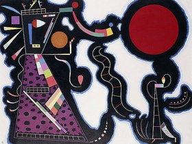 Wassily Kandinsky: Der Rote Kreis