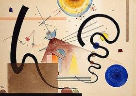 Wassily Kandinsky: Zwei Bewegungen. 1924