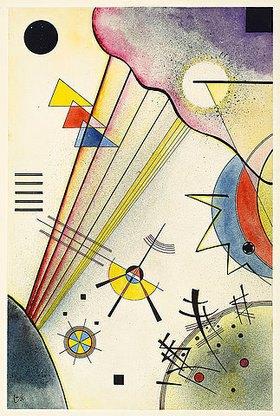 Wassily Kandinsky: Deutliche Verbindung