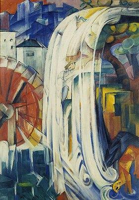 Franz Marc: Die verzauberte Mühle