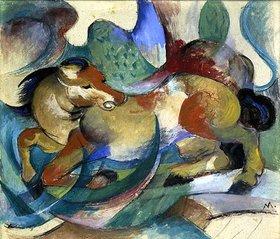 Franz Marc: Springendes Pferd