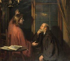 Fritz von Uhde: Nikodemus und Jesus