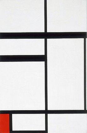 Piet Mondrian: Komposition mit Rot, Schwarz und Weiß