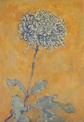 Piet Mondrian: Chrysantheme