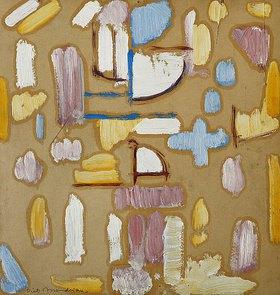 Piet Mondrian: Komposition mit Rosa, Blau, Gelb und Weiß (Kirchenfassade)
