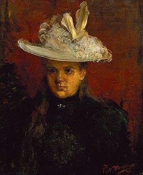 Piet Mondrian: Princesje. (Wilhelmina, Königin der Niederlande (1880-1964) (als Kind)
