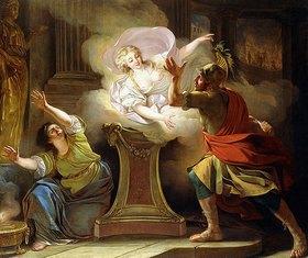 Pierre Lacour (Delacour): Aeneas folgt Helena in den Tempel der Vesta