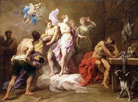 Jean Restout: Venus bittet Vulkan um Waffen für Aeneas