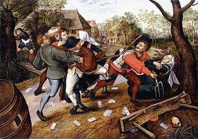 Pieter Brueghel d.J.: Streitende Bauern