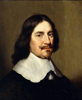 Gerrit van Honthorst: Brustbild eines Herren in schwarz