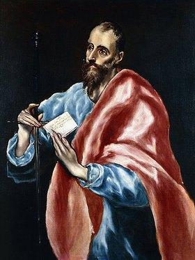 Greco El (Dominikos Theotokopoulos): Der hl. Paulus