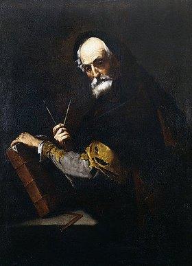 Jusepe de Ribera: Ein Philosoph