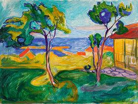 Edvard Munch: Der Garten in Åsgårdstrand