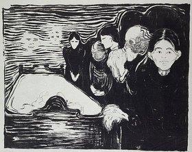 Edvard Munch: Todeskampf
