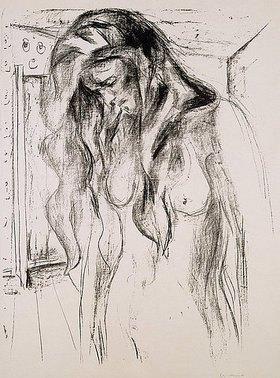 Edvard Munch: Weinendes Mädchen