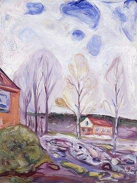 Edvard Munch: Frühjahr, Åsgårdstrand