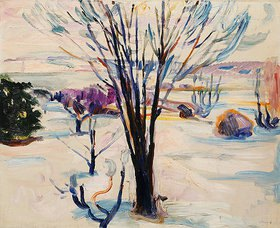 Edvard Munch: Winterlandschaft in Jeløya