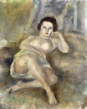 Jules Pascin: Liegende junge Frau (Jeune Femme Couchee)