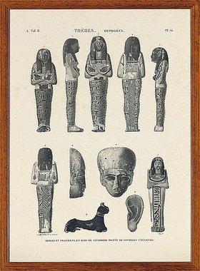 Unbekannter Künstler: Napoleonische Untersuchung über Ägypten (Eine Sammlung von Ansichten, Kostümen, Plänen und Antiquitäten aus Ägypten