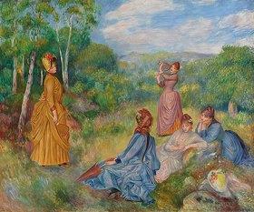 Auguste Renoir: Junge Mädchen beim Federballspiel (Jeunes filles jouant au volant)
