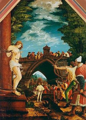 Albrecht Altdorfer: Passions/Sebastians-Altar in St.Florian Marter des hl.Sebastian