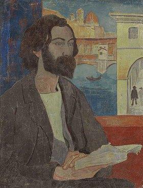 Paul Serusier: Portrait von Emile Bernard in Florenz