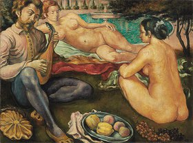 Emile Bernard: Cour d'Amour