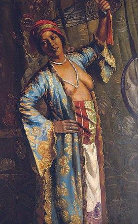 Emile Bernard: Eine exotische Tänzerin