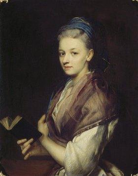 Jan Kupetzky: Bildnis einer jungen Frau