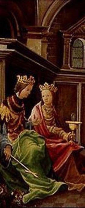 Albrecht Altdorfer: Passions/Sebastians-Altar in St.Florian Die hll.Margaretha und Barbara