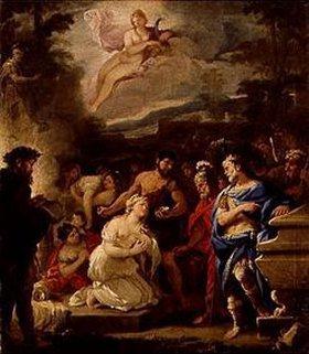 Luca (Fa Presto) Giordano: Die Opferung der Polyxena