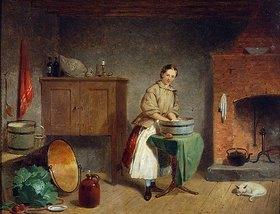 Francis William Edmonds: Eine Frau in einer Küche