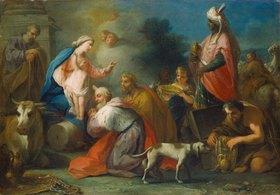 Jacopo Amigoni: Anbetung der Könige