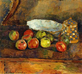 Alexej von Jawlensky: Stilleben mit Äpfeln