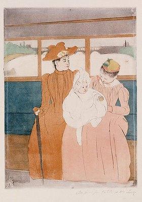Mary Cassatt: Im Omnibus