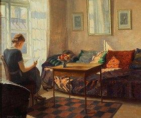Robert Panitzsch: Lesende an einem Fenster