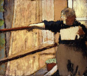 Edouard Vuillard: Lesende Frau. Der Brief (Femme Lisant. La Lettre)