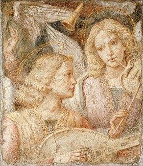 Bernardino Luini: Musizierende Engel (Fragment)