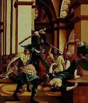 Albrecht Altdorfer: Passions/Sebastians-Altar in St.Florian Der hl.Sebastian wird erschlagen