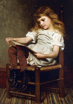 John George Brown: Mußestunde (A Leisure Hour)