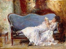 Eduardo Leon Garrido: Lesende Dame