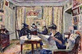 Edouard Vuillard: Die Partie Bridge (Le Partie de Bridge)