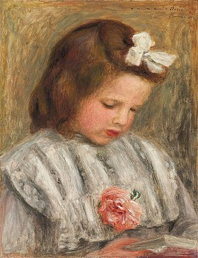 Auguste Renoir: Kopf eines Mädchens (Tête de fillette)